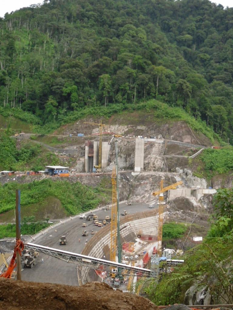 Chan 75 dam under construction 2010