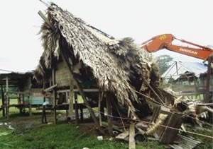 November 19th 2009 – Ganadera Bocas move into San San Druy again to destroy houses