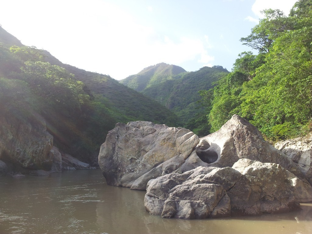 Rio San Juan is a beautiful and majestic site with great importance both physically and spiritually for the Lenca who live around it